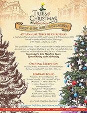 Merrehope Trees of Christmas Flyer
